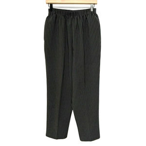 Bon Worth MP Black & White Pinstripe Pull On Pants